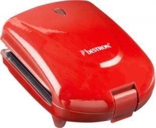 Bestron Sandwichmaker Kompakter Sandwichmaker 3-in-1 ADM2003R