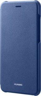 Huawei P8 Lite 2017 Flip Cover, Blau