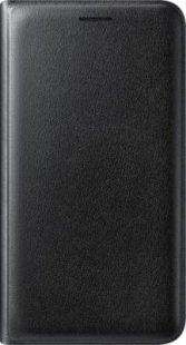 Samsung Flip Wallet EF-WJ120 für Galaxy J1 (2016), Schwarz