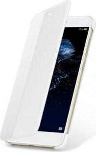 Huawei P10 Lite Flip View Cover, Weiß