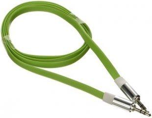 Poppstar 3,5mm Audio Klinken-Kabel, grün