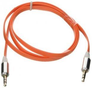Poppstar 3,5mm Audio Klinken-Kabel, orange