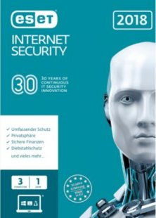 ESET Software Internet Security 2018