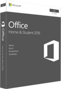 Microsoft Software Office:mac Home & Student 2016