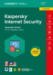 Kaspersky Internet Security 2018 3 Geräte Upgrade FFP