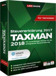Lexware Software Taxman für Vermieter 2018