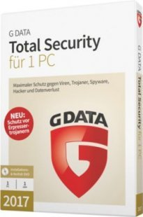 G DATA Software TotalSecurity 2017