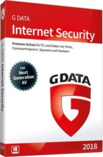 G DATA Software Internet Security 2018