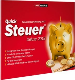 Lexware Software Quicksteuer Deluxe 2018
