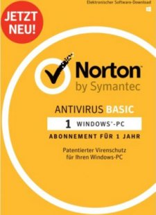 Norton Software Antivirus Basic 1D