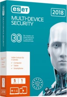 ESET Software MultiDevice Security 2018