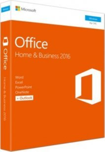 Microsoft Software Office Home & Business 2016