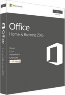 Microsoft Software Office:mac Home & Business 2016