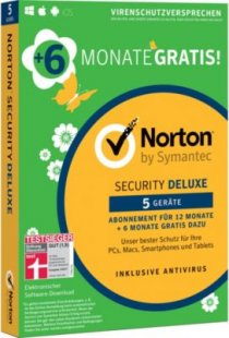 Norton Software Security Deluxe Sonderedition