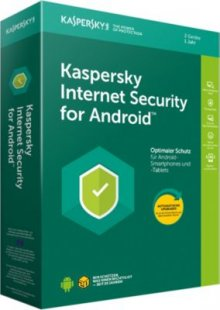 Kaspersky Software Internet Security für Android 2 User MB