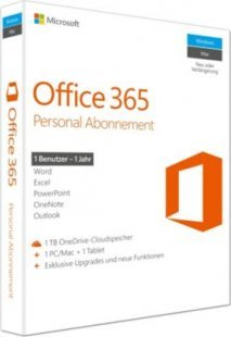 Microsoft Software Office 365 Personal