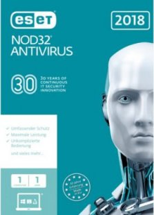 ESET Software NOD32 Antivirus 2018