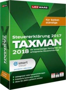 Lexware Software Taxman 2018 für Selbstständige