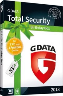 Gdata Software TotalSecurity Birthday Box
