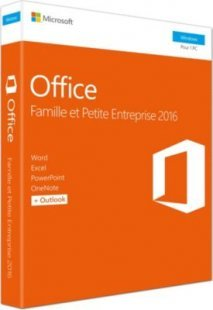 Microsoft Software Office Home & Business 2016 EuroZone