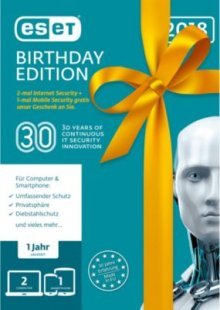 ESET Software Birthday Edition 2018