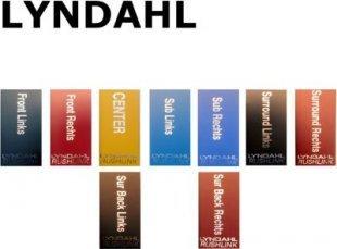 Lyndahl LKST12XX Schrumpfschlauch für Lautsprecherblenden 5.1 oder 7.1 Farbe: Front Links
