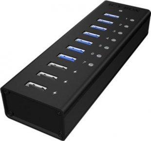 Icy Box USB-Hub IB-AC6703 USB 3.0 Hub 3 Port