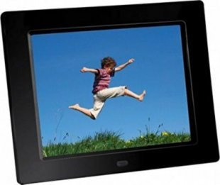 BRAUN DigiFrame 855 schwarz (8´´ LCD+LED. 1024x768, 4:3)