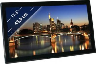 BRAUN DigiFrame 1730 (17,3´´,LCD+LED,1920x1080,16:9IPS,Video-FullHD+MP3+4GB)