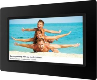 BRAUN DigiFrame 1010 WiFi, schwarz (10,1´´LCD+LED, 1280x800,16:10,8GB+IPS+Touch+Video+MP3)