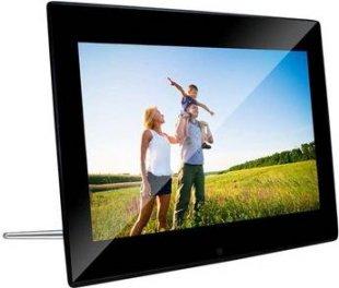 BRAUN DigiFrame 1220, Acryl schwarz (12.1´´LCD+LED, 800x600,4:3,+4GB+Video+MP3)