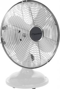 Bestron Ventilator Tischventilator Retro DFT25W