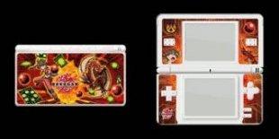 Aufkleber für Nintendo DS Lite Konsole Pyurus & Darkus (NDS)
