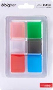 Leerhüllen BigBen Game Case Set farblich sortiert 6 Stück (NSW)