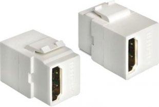 DeLOCK Adapter Keystone Modul HDMI Buchse > HDMI Buchse