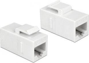 DeLOCK Keystone-Modul Keystone Modul RJ45 Buchse > RJ45 Buchse Cat.6 UTP