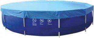 Jilong Pool-Abdeckung rund Abdeckplane für runde Frame Pool Gr. Ø 300 - 305 cm Stahlrohr Schwimmbecken Stahlrahmen Rundpool Schwimmbad Cover