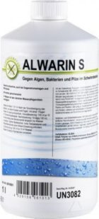 Alwarin-S Algenmittel 1L gegen Algen, Bakterien und Pilze im Schwimmbecken