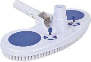 Jilong Pool-Reinigung Vakuum Bodensauger Schwimmbad Bodenbürste Poolsauger mit Ansaugschutz für Poolstange Ø 28-30 mm