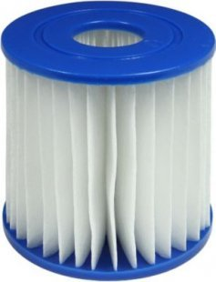 Jilong filter cartridge 1 - Filter Kartusche Typ 1 für Poolpumpen, Ø 80 mm x 85 mm, Innen Ø 25mm