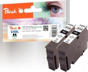Peach Doppelpack Tintenpatronen XL schwarz kompatibel zu Epson No. 29XL, T2991