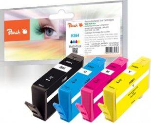Peach Spar Pack Tintenpatronen kompatibel zu HP No. 364