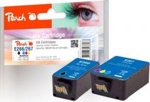 Peach Spar Pack Tintenpatronen kompatibel zu Epson No. 266/267