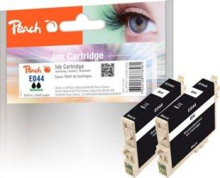 Peach Twin Pack schwarz kompatibel zu Epson T0441