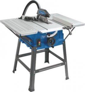 Scheppach HS100S Tischkreissäge mit Tischverbreiterung