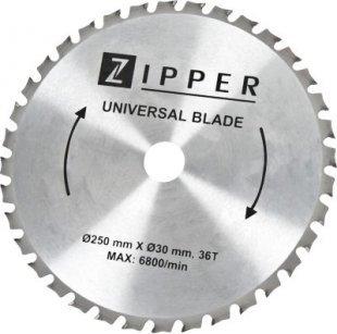 Zipper KSB25030Z36 Multicut Sägeblatt für KGS250-310