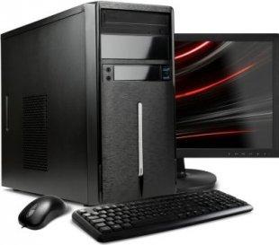 VCM PC-Set ´´Simpi´´ Intel Core i3-6100 (2x 3,7 Ghz, 3 MB Cache), Windows 10