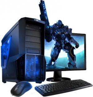 VCM Gaming PC-Set (PC+TFT) | Intel Core i3-6100 (2x 3.7 Ghz, 3 MB Cache) | Intel HD Graphics | Windows 10
