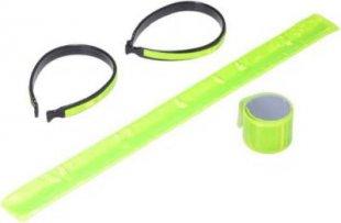 Reflektoren - Set 4teilig Reflektorband Sicherheitsband Arm &amp Bein Fahrrad Joggen