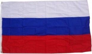 XXL Flagge Russland 250 x 150 cm Fahne mit 3 Ösen 100g/m² Stoffgewicht